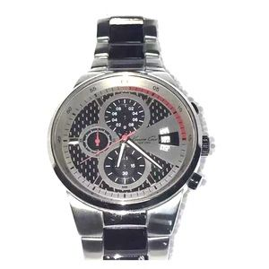 Kenneth Cole Carbon Fiber Stainless Steel Chrono